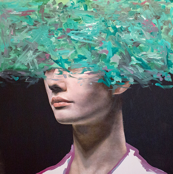 Expressive Oil Work Portraits By Andrea Castro